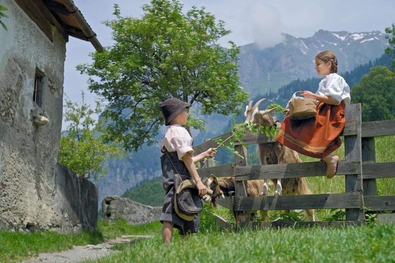 소설속 알프스 소녀 하이디 마을을 현실로 만든 스위스 마이엔펠트(Maienfeld)의  관광 마케팅 3