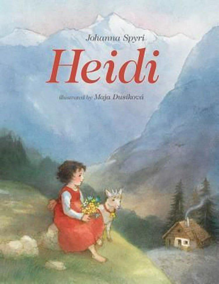 알프스 소녀 하이디 요한나 슈피리(Johanna spyri) Heidi by Johanna Spyri cover