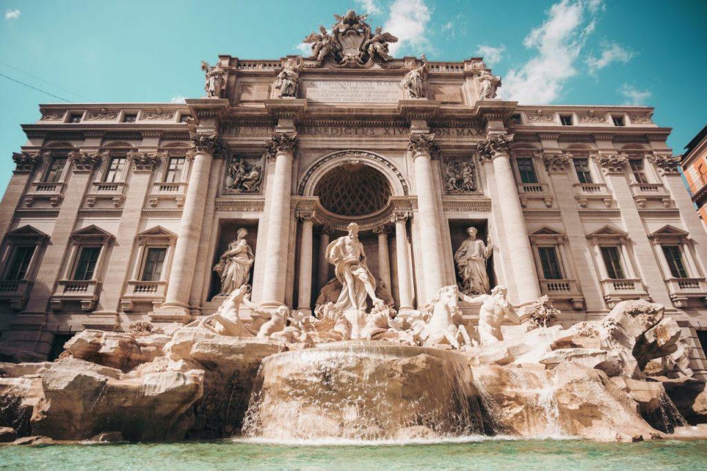 이탈리아 여행, 로마 트레비분수, Trevi Fountain, Roma, Italy, Image - cristina-gottardi
