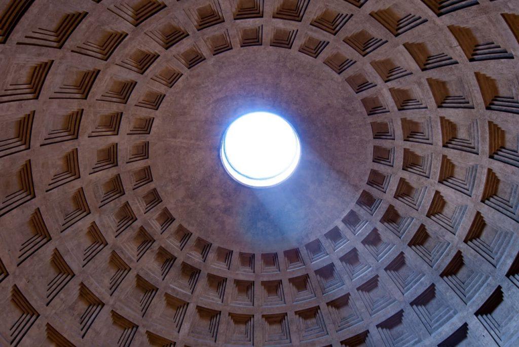 이탈리아 여행, 로마 판테온(Pantheon)의 창문 오쿨루스(Oculus), Image - wynand-van-poortvliet