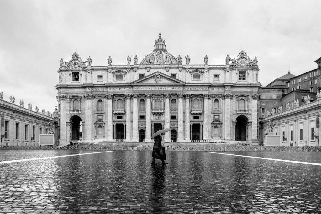 이탈리아 여행, 바티칸 성 베드로 성당, St. Peter's Basilica, Città del Vaticano, Vatican City, Image - alex-folguera
