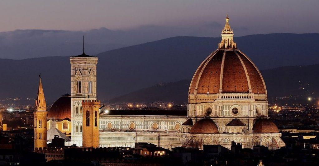 이탈리아 여행, 피렌체 시내 전경 파노라아, Image - Openpics