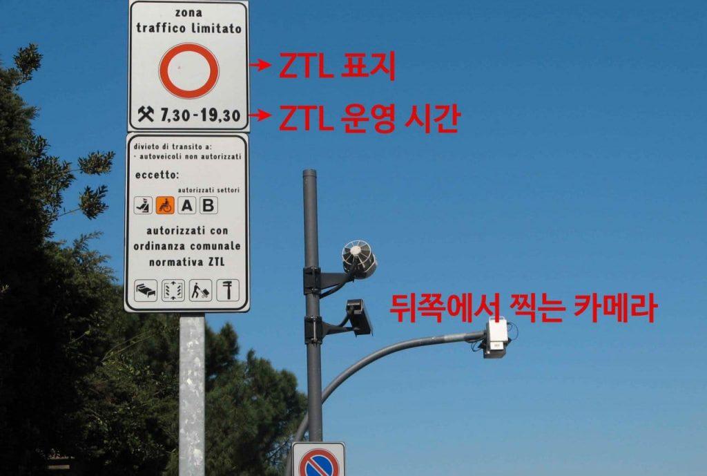 이탈리아 여행, 피렌체 ZTL(Zona Traffico Limitato) 이미지, IMage -