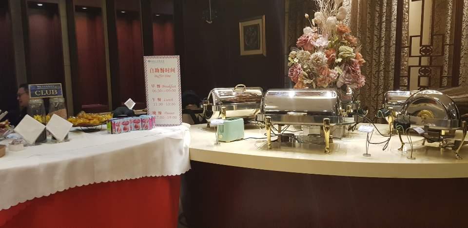 중국 베이징 에러차이나 환승 라운지 음식 04