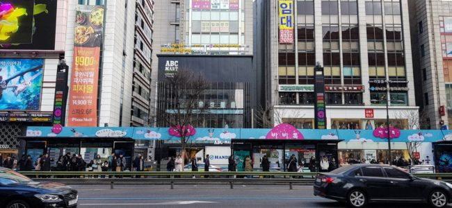강남역 산책중에 만난 광고들 -  모든 공간이 그냥 광고라서 아쉬웠던 곳