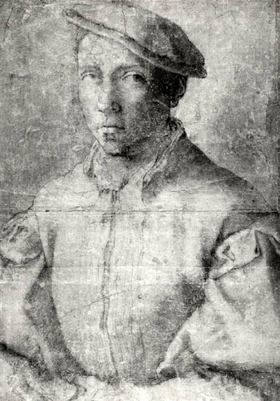 미켈란첼로(Michelangelo)의 동성애인 토마소 데 카발리에리(Tommaso de cavalieri) 초상