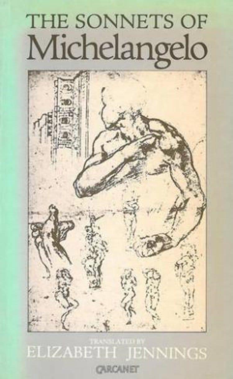 미켈란첼로(Michelangelo) 소네트 출판, Michelangelo Sonnet_with a caricature