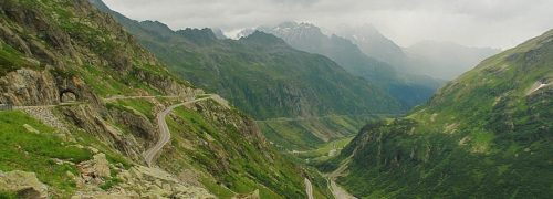 [스위스 자동차 여행] 자동차를 위한 최초의 고갯길, 수스텐 패스(Susten PASS)