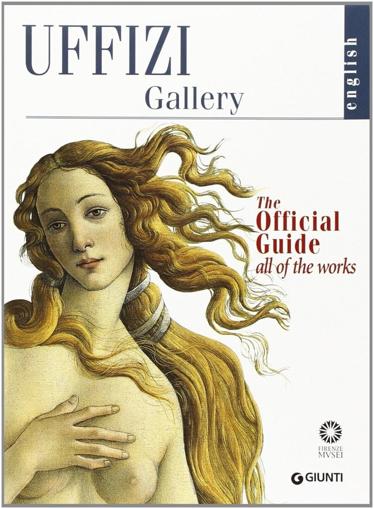 우피치 미술관 가이드 표지에 나오는 보티첼리(Botticelli) 작품, Uffizi Gallery Guide