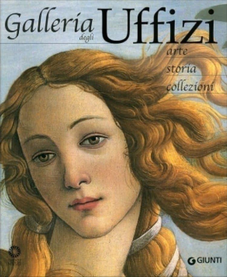 우피치 미술관 도록 표지에 나오는 보티첼리(Botticelli), Uffizi Gallery Catalog