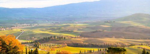[이탈리아 자동차 여행] 석양의 발도르시아 풍광이 아름다웠던 피엔차(Pienza)