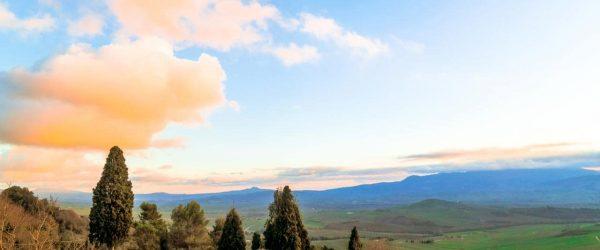 [이탈리아 자동차 여행] 겨울 토스카니 발도르시아 평원의 풍경 4