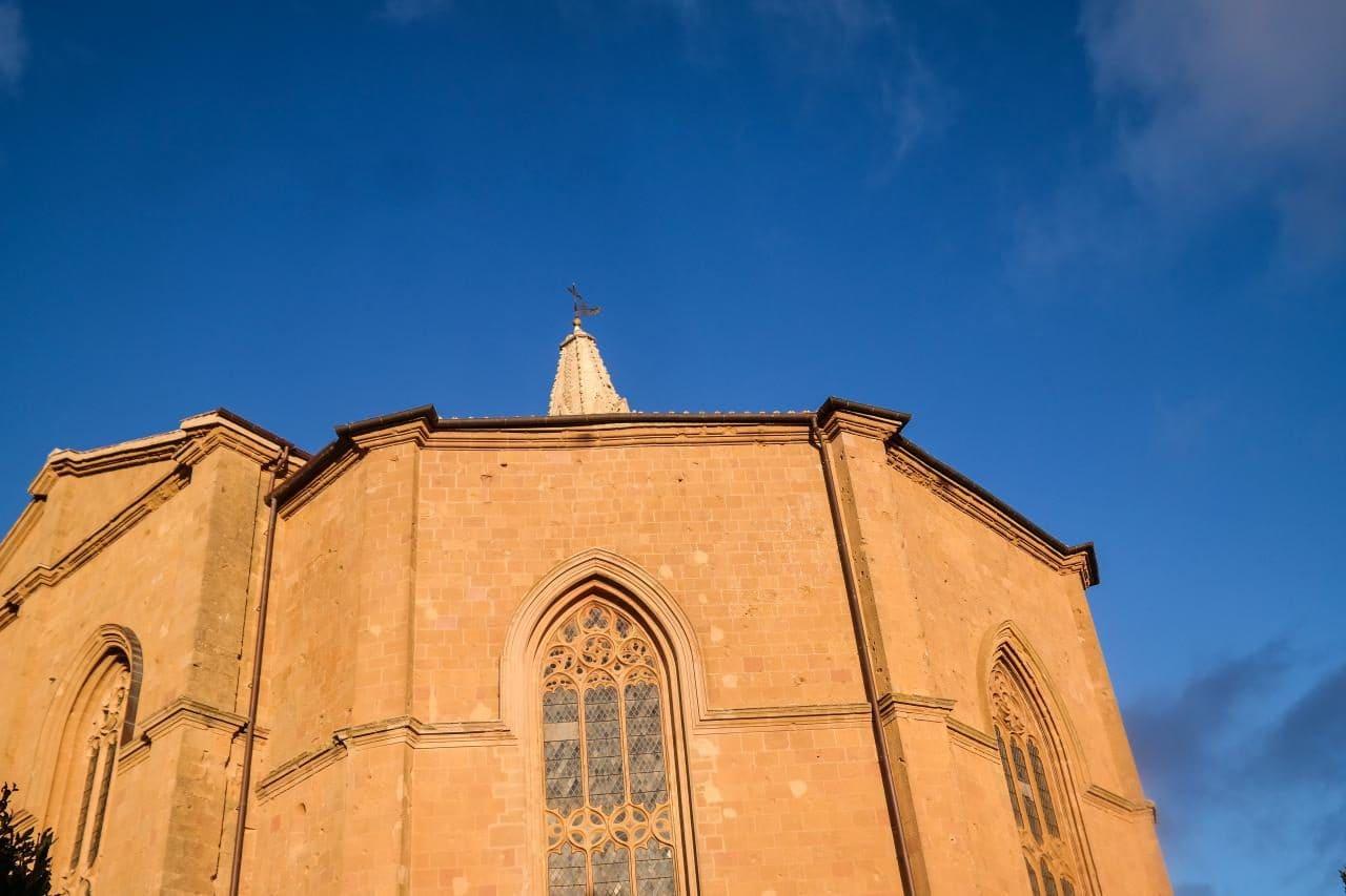 유럽 이탈리아 자동차여행_피엔차(Pienza) 대성당을 피콜로미니 궁전(Palazzo Piccolomini) 뒷편 전망대에서 담아본 모습, Image - Choi dongsoon-0235