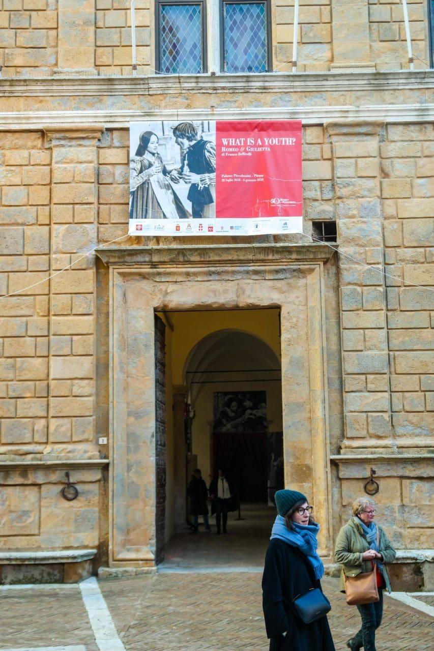 유럽 이탈리아 자동차여행_피엔차(Pienza) 피콜로미니 궁전(Palazzo Piccolomini) 입구, Image - Choi dongsoon-0200