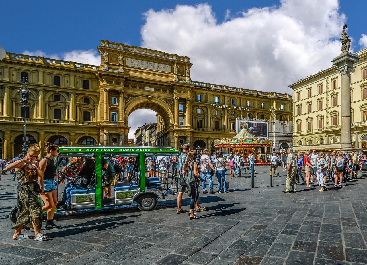 이탈리아 여행, 피렌체, 리퍼블리카광장, Piazza della Repubblica, florence, Image -  kirkandmimi