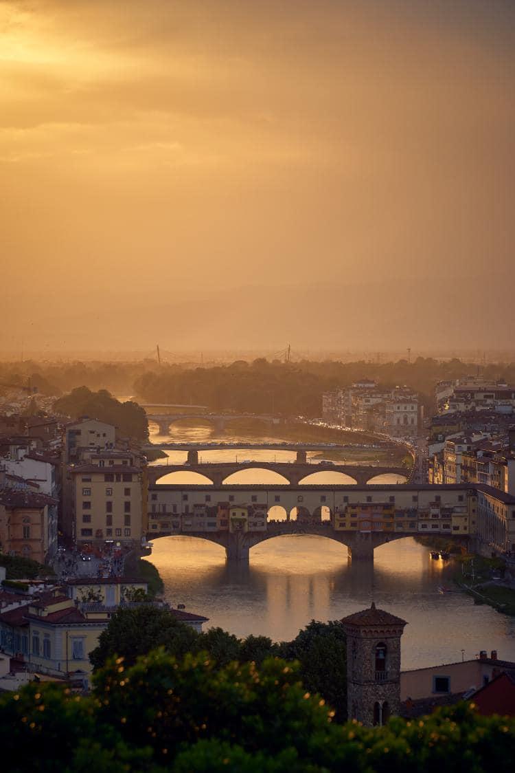 이탈리아 여행, 피렌체, 베키오다리(Ponte Vecchio)가 보이는 풍경, Ponte Vecchio, Firenze, Italy, Image - mark-boss