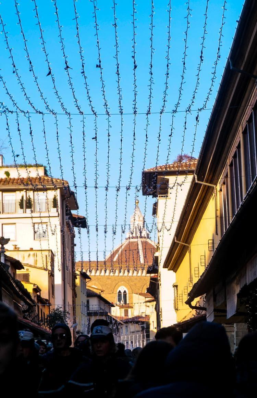 이탈리아 여행, 피렌체, 베키오다리(Ponte Vecchio)에서 보이는 피렌체 두오모(Cathedral of Santa Maria del Fiore), Image - Choi dongsoon