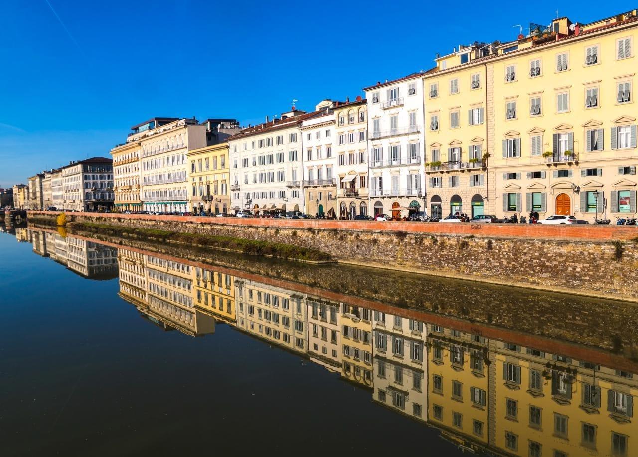 이탈리아 여행, 피렌체, 아르노강(Arno)의 피렌체 풍경, Image - Choi dongsoon