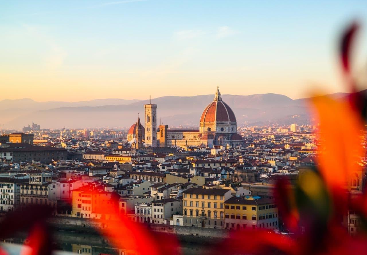 이탈리아 여행, 피렌체 야경이 아름다운 미켈란첼로 광장, 미켈란첼로광장에서 바라본 두오모, Image - Choi dongsoon