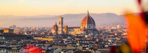 [이탈리아 자동차 여행] 아름다운 석양의 피렌체를  보다, 미켈란첼로광장