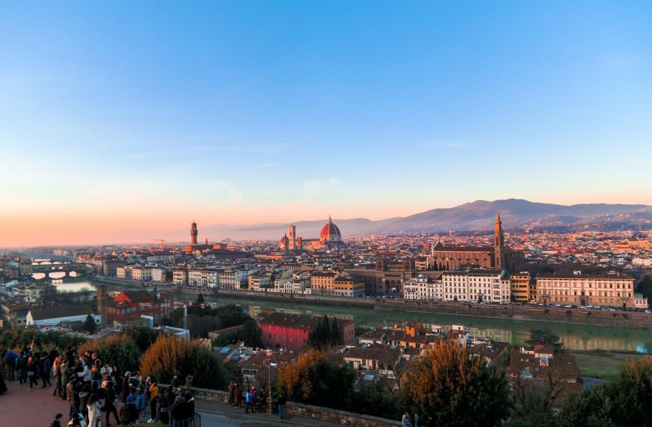 이탈리아 여행, 피렌체 야경이 아름다운 미켈란첼로 광장, 미켈란첼로광장에서 바라 본 피렌체 시내, Image - Choi dongsoon