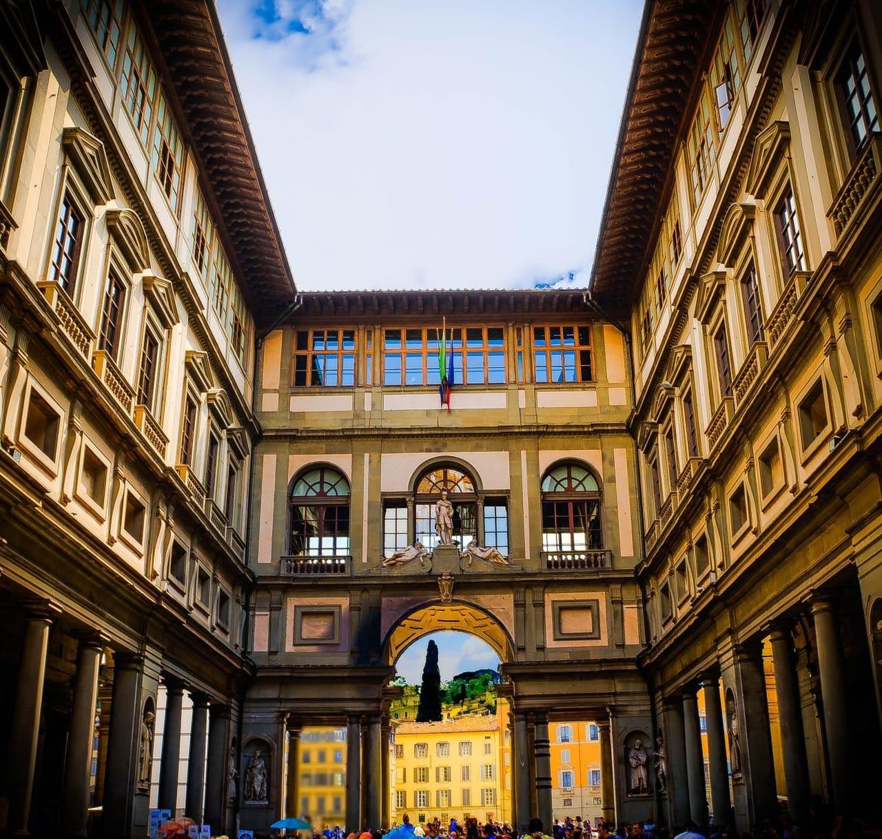 이탈리아 여행, 피렌체 우피치미술관, Galleria degli Uffizi, Piazzale degli Uffizi, Firenze, Italy, Image - Mariamichelle