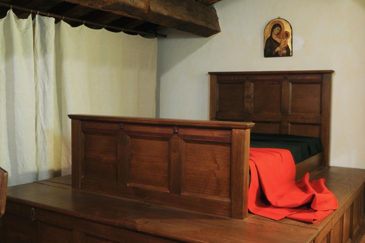 이탈리아 여행, 피렌체. 단테기념관(MUSEO CASA DI DANTE),  단테의 침실(Bedroom), Image - MUSEO CASA DI DANTE