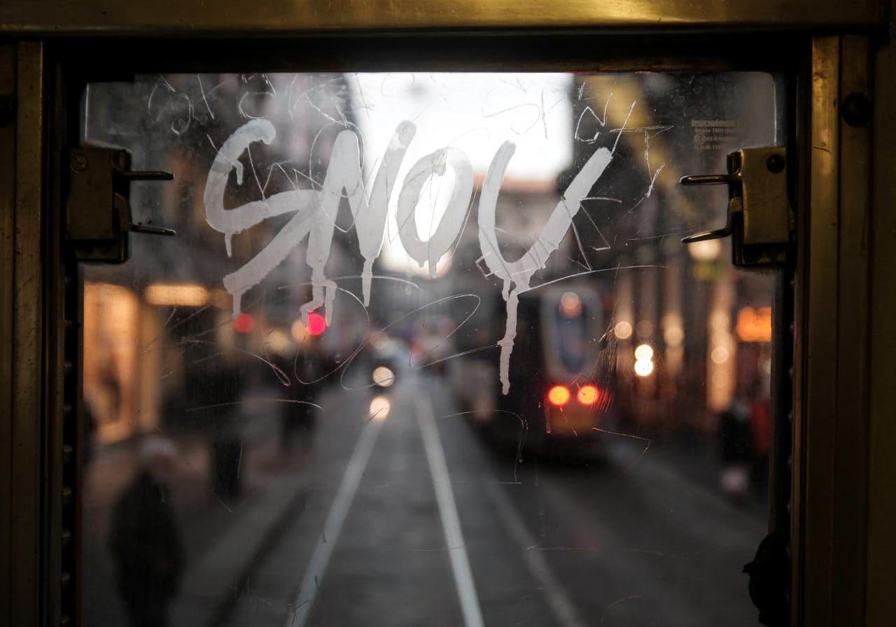 이탈리아 자동차 여행, 밀라노 시내, 트램에서 창밖 풍경을 담아보다, Image by Happist