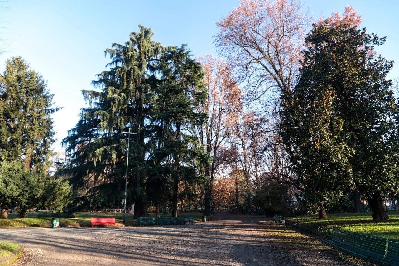 이탈리아 자동차 여행 - 밀라노 Indro Montanelli Park 내부 모습,  Image by Happist