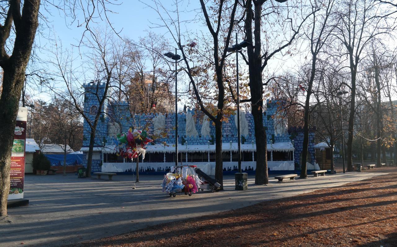 이탈리아 자동차 여행 - 밀라노 Indro Montanelli Park 놀이터 풍경,  Image by Happist
