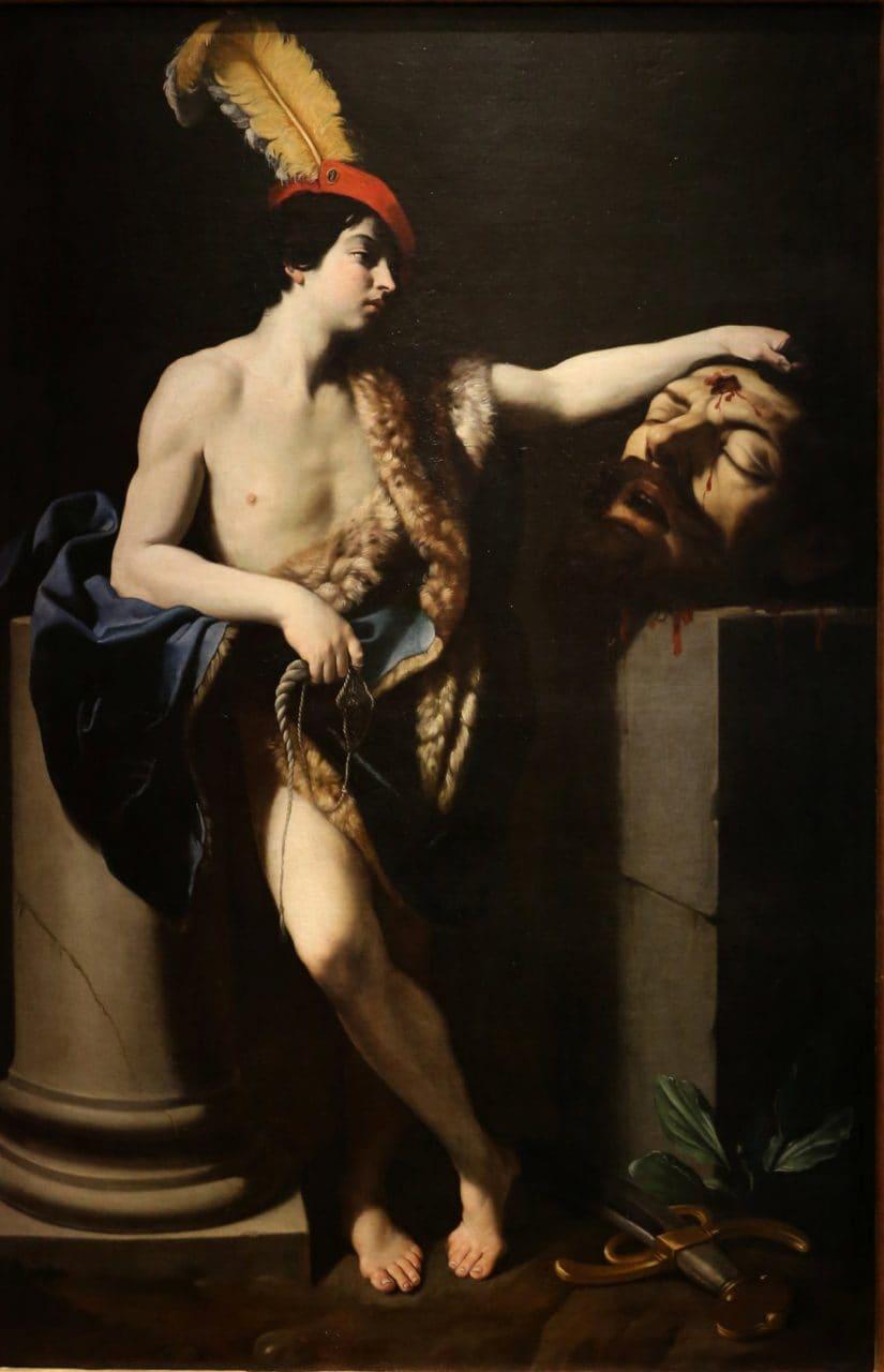 귀도 레니(Guido Reni)의 골리앗의 머리를 잡고있는 다윗(David con la testa di Golia)