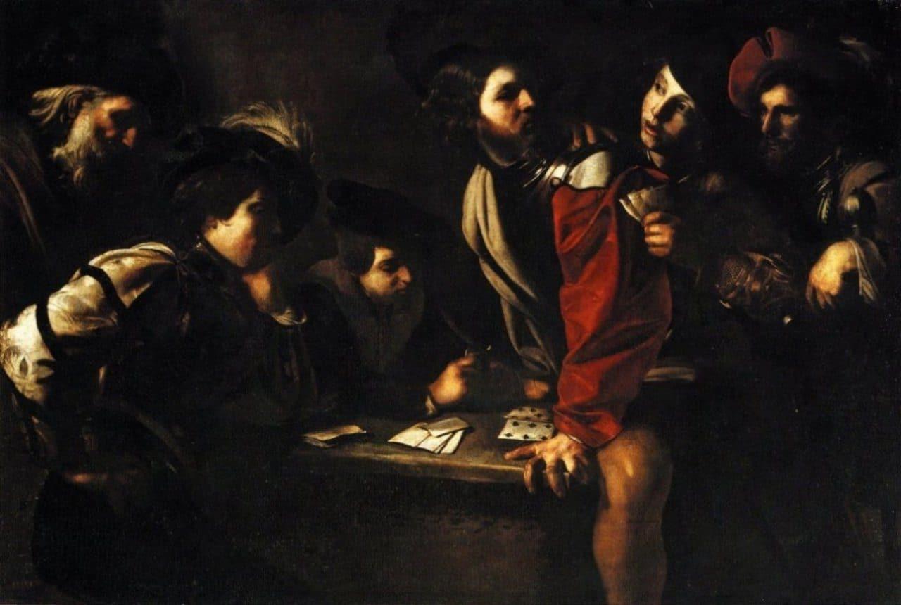 바르톨로메오 만프레디(1582~1622, Bartolomeo Manfredi)의 카드놀이하는 군인들(Soldiers Playing Cards)