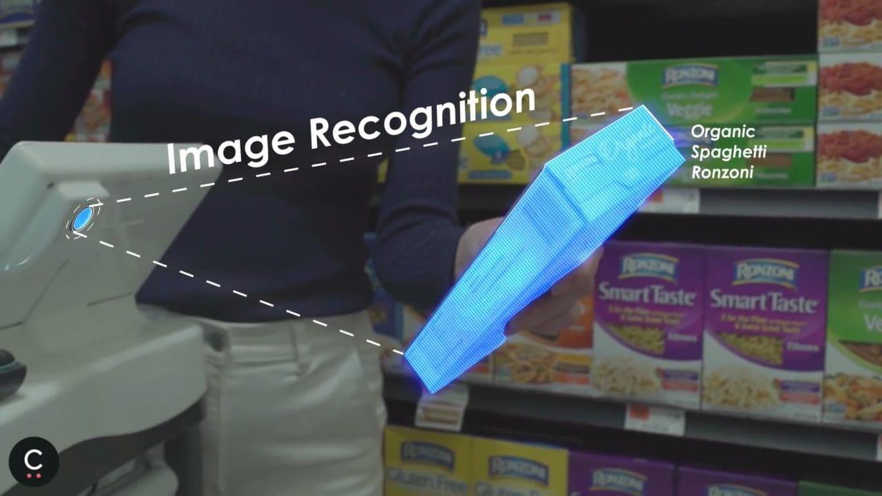 스마트 카트 스타트업체 케이퍼(Caper)의 스마트 카트에서 카메라를 이용해 상품 인식, Caper Smart Cart - Make Shopping Magi