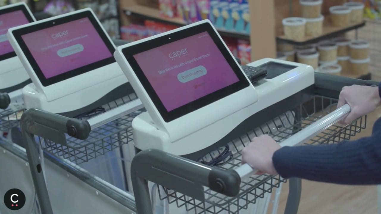 스마트 카트 스타트업체 케이퍼(Caper)의 스마트 카트, Caper Smart Cart - Make Shopping Magic
