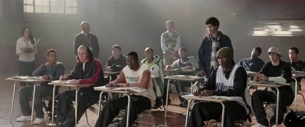 영화 코치 카터의 한장면, Image - YouTube
