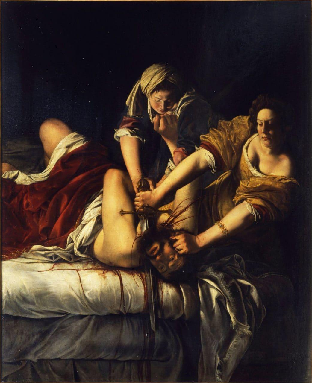 유디트와 홀로페르네스(Judith and Holofernes) - 아르테미시아 젠틸레스키(Artemisia Gentileschi), 1620