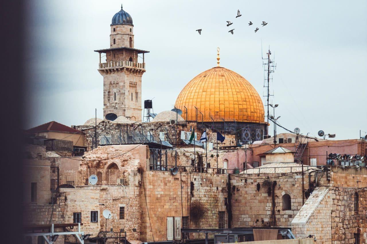 이스라엘 에루살렘 사원이 보이는 풍경, Photo by John T Featuredcrop