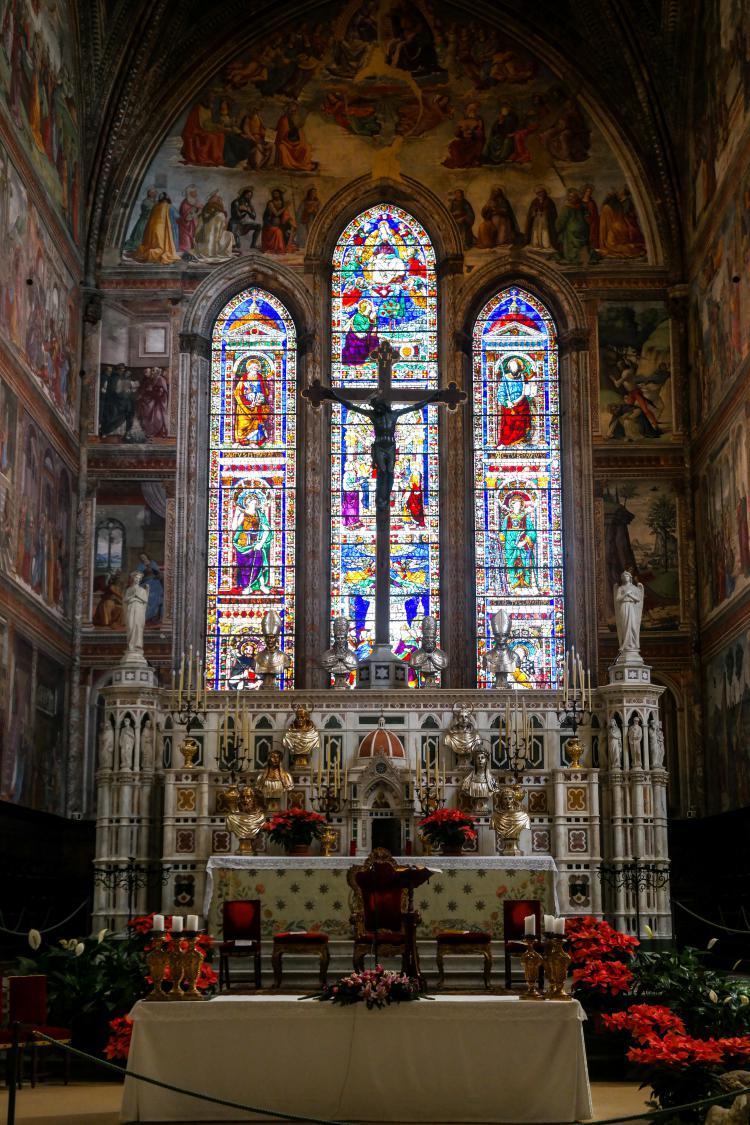 이탈리아 여행, 피렌체, 산타 마리아 노벨라성당, 토르나부오니 예배당(영어 Tornabuoni Chapel, 이탈리아어 Cappella Maggiore), © All Rights Reserved - Choi dongsoon