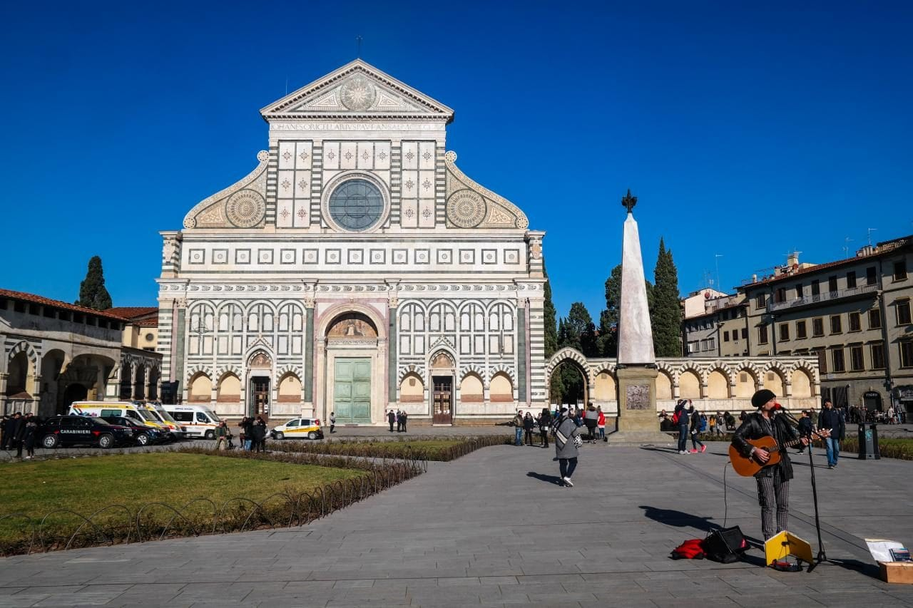 이탈리아 여행, 피렌체, 산타 마리아 노벨라성당(Church of Santa Maria Novella) 전경, © All Rights Reserved - Choi dongsoon