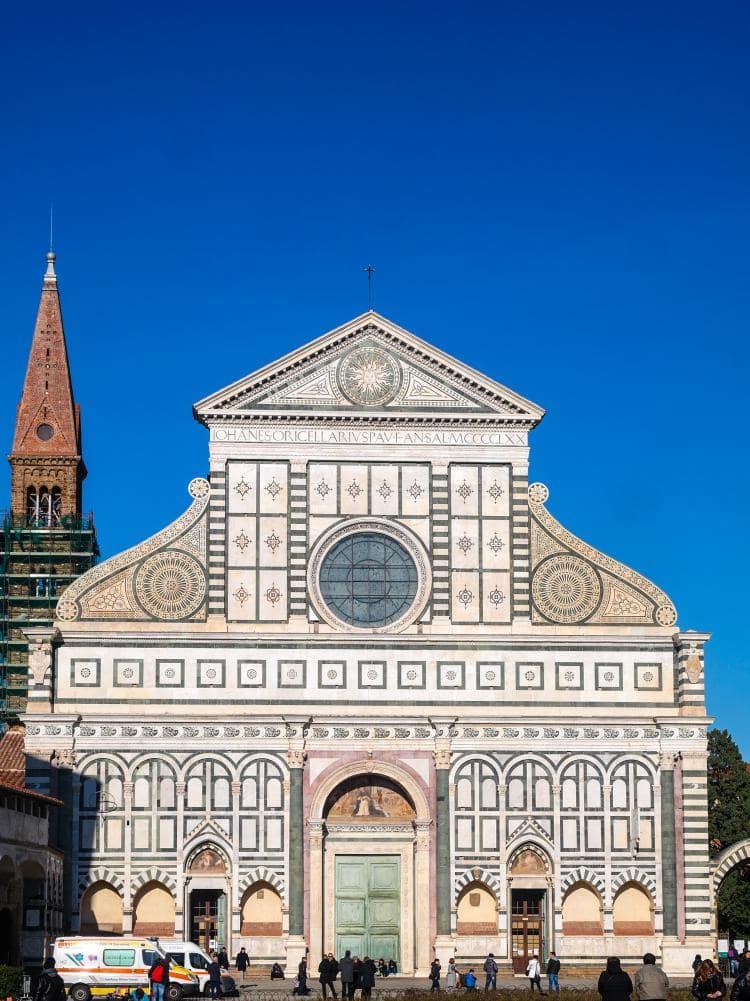 이탈리아 여행, 피렌체, 산타 마리아 노벨라성당(Church of Santa Maria Novella) 정면 파사드, © All Rights Reserved - Choi dongsoon