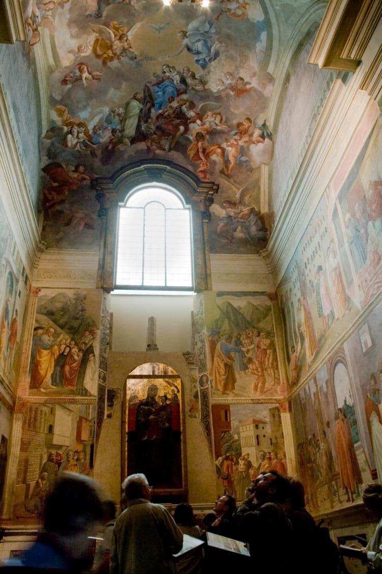 이탈리아 여행, 피렌체, 산타 마리아 델 카르미네성당(The Church of Santa Maria del Carmine) 내 브랑카치 채플(Brancacci Chapel) 내부 모습, CC BY-ND Simone Ramella
