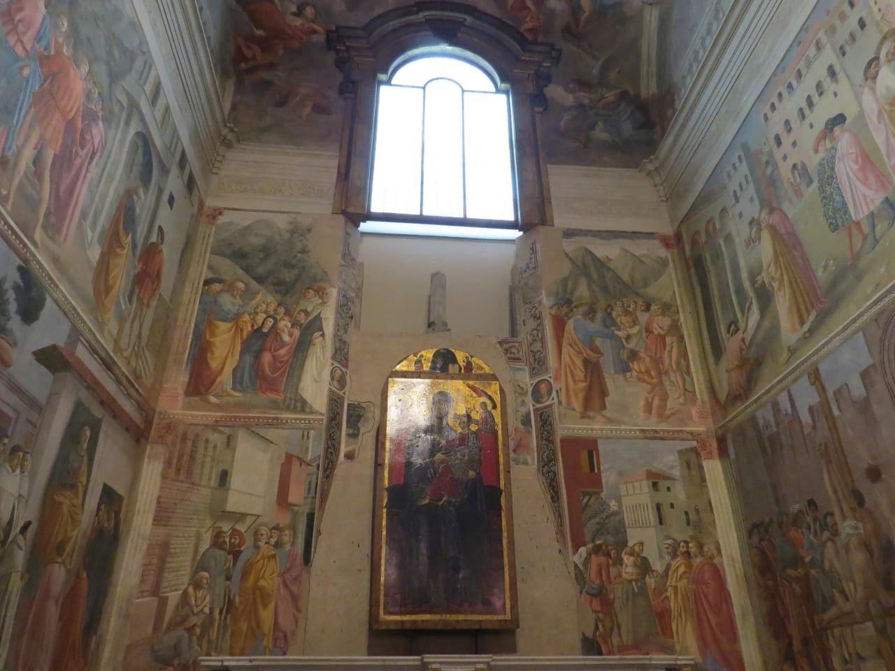 이탈리아 여행, 피렌체, 산타 마리아 델 카르미네성당(The Church of Santa Maria del Carmine) 내 브랑카치 채플(Brancacci Chapel) 내부 모습, CC BY Simone Ramella