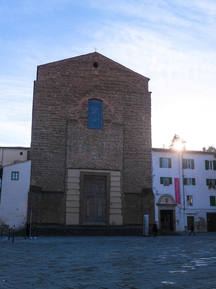 이탈리아 여행, 피렌체, 산타 마리아 델 카르미네성당(The Church of Santa Maria del Carmine) 전경(세로), © All Rights Reserved - Choi dongsoon