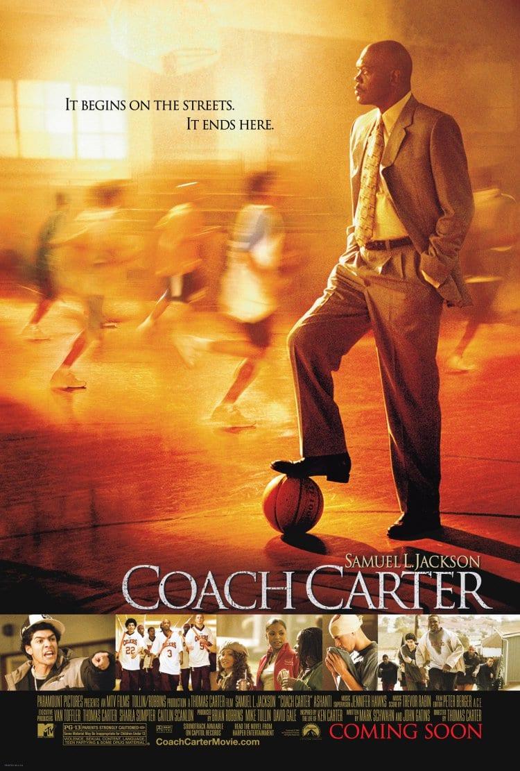 코치 카터(Coach Carter) 영어 포스터