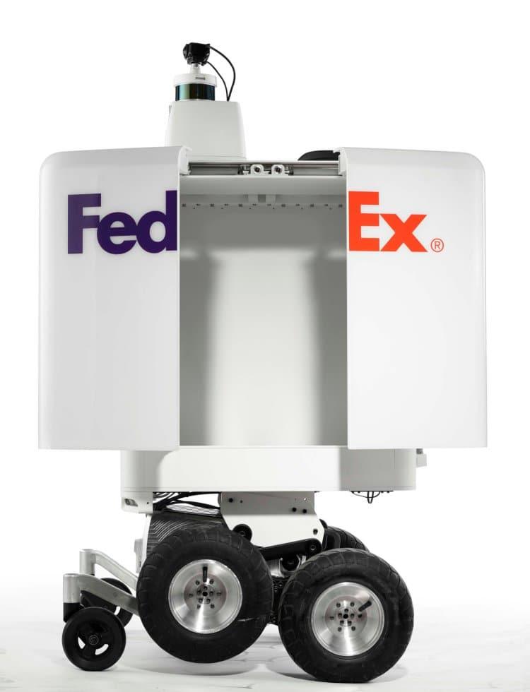 페덱스 배송로봇, FedEx Bot, Image - FedEx