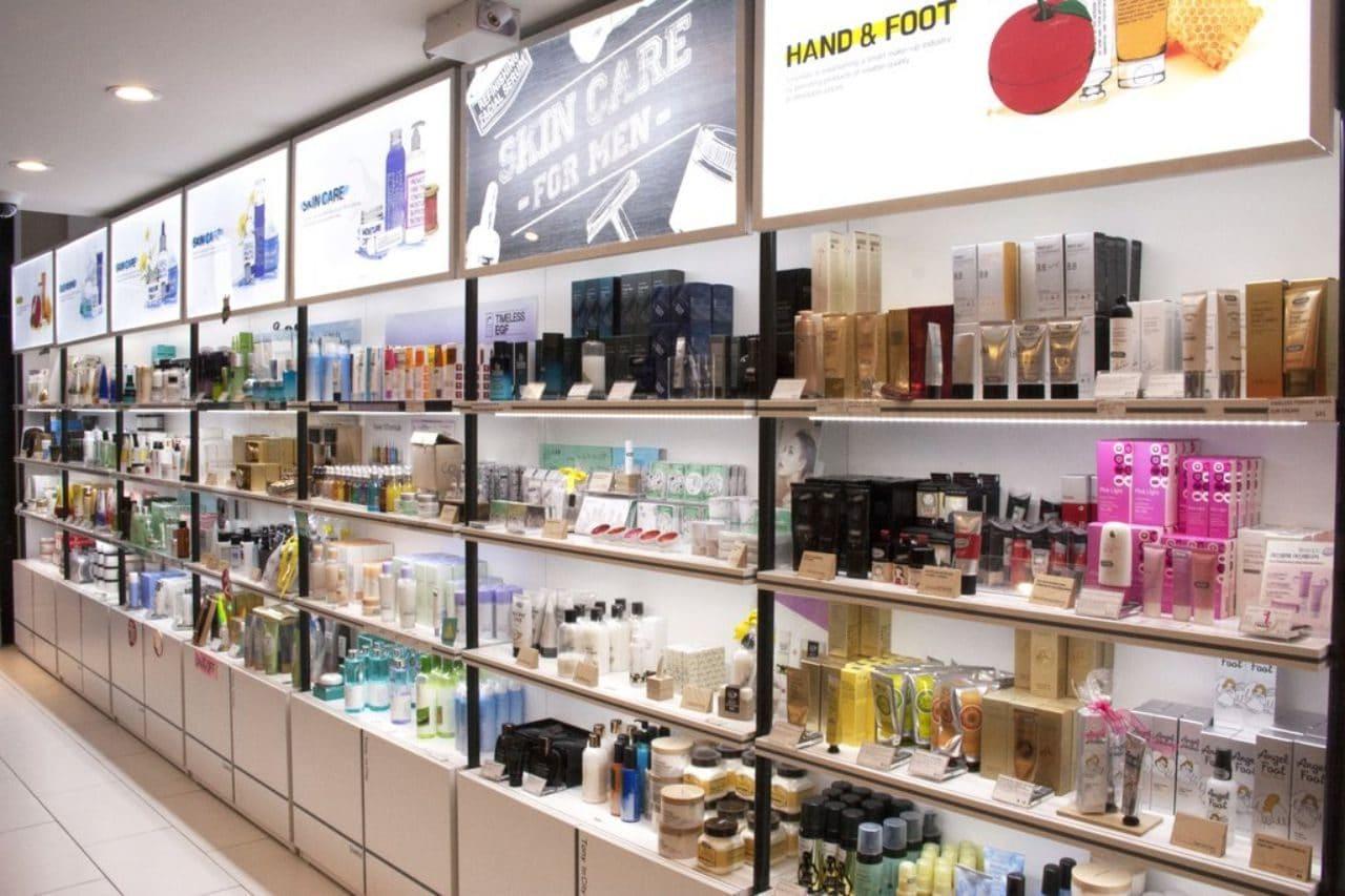 한국 뷰티 제품을 소개 판매하는 뉴욕의 Kosette Beauty Market 매장 풍경, Image - Kosette Beauty Market site