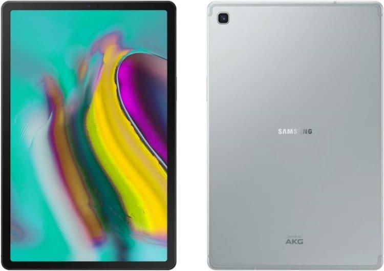 삼성 태블릿 갤럭시 탭 S5e(Galaxy Tab S5e) 전면 및 후면 모습,  Image - Samsung