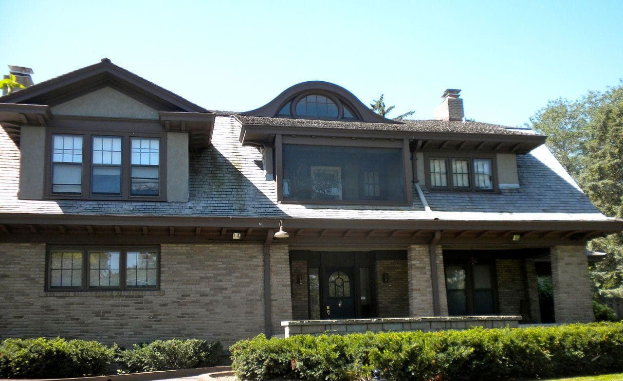 네브라스카에 있는 웨런 버핏의 저택, Buffett's home in Omaha, Nebraska, Image - Smallbones