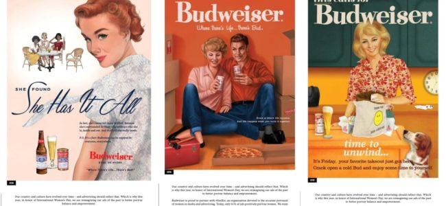 버드와이저가 여성의 날을 맞아 부활시킨 광고 세편