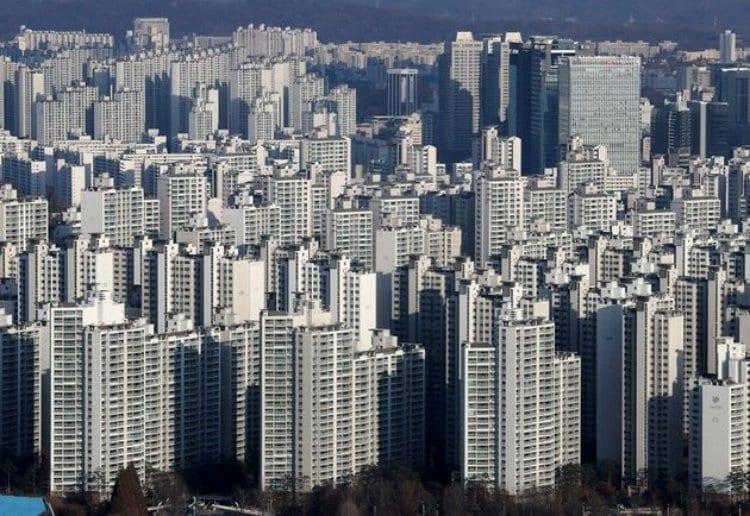 서울의 아파트 모습, Image - huffingtonpost